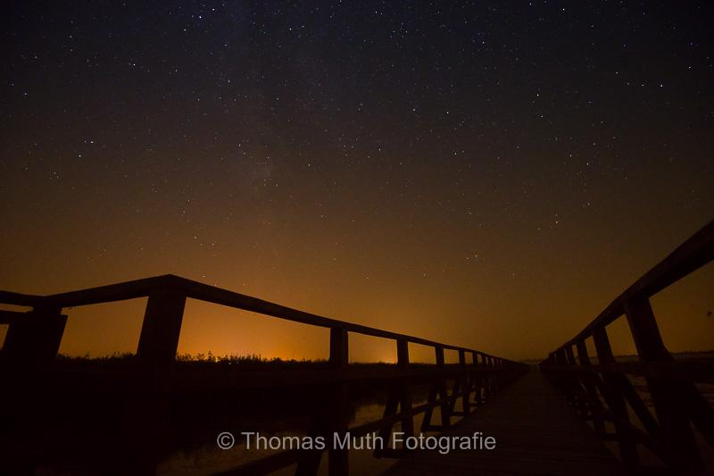 Sternenhimmel über dem Federsee